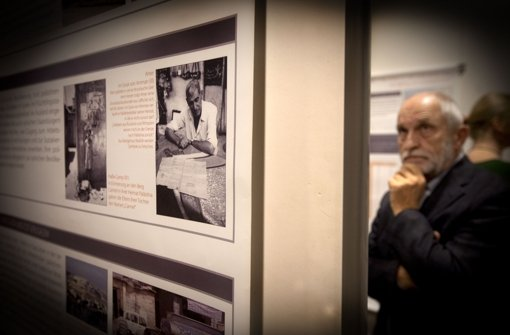 Die Nakba-Ausstellung zeigt die Geschehnisse gezielt aus Sicht der Palästinenser. Das soll zum Nachdenken anregen. Foto: Horst Rudel