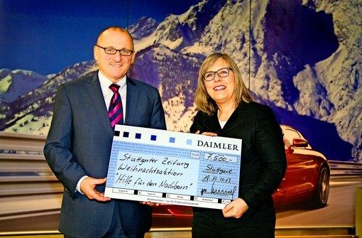 Daimler stockt die Spendensumme auf