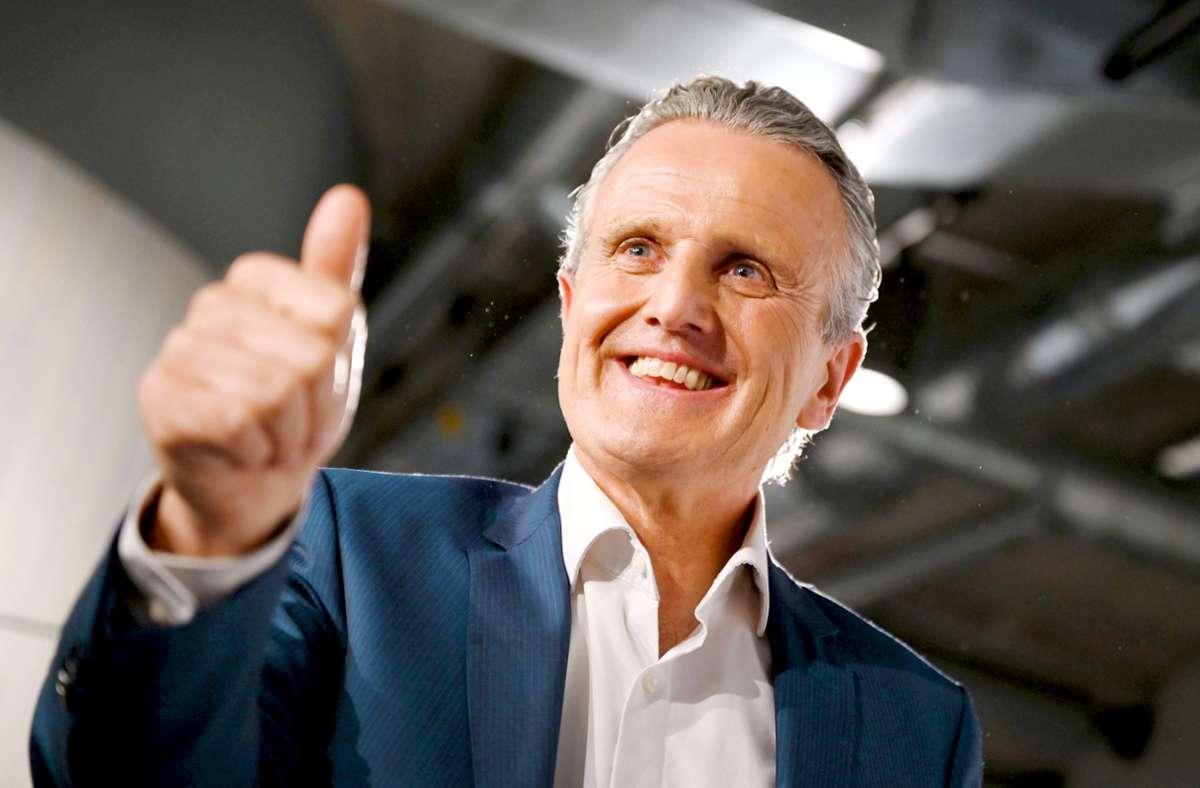 OB-Wahl in Stuttgart - Frank Nopper neuer OB...