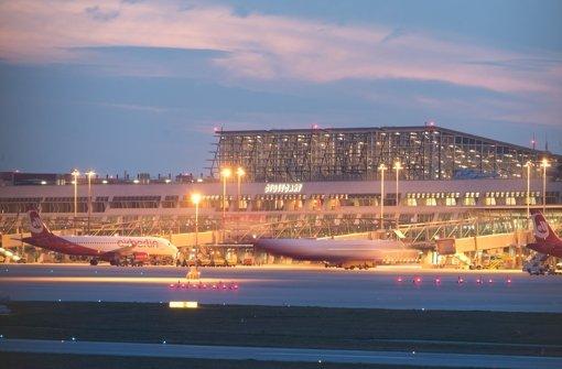 Auch in Stuttgart sind Flüge ausgefallen