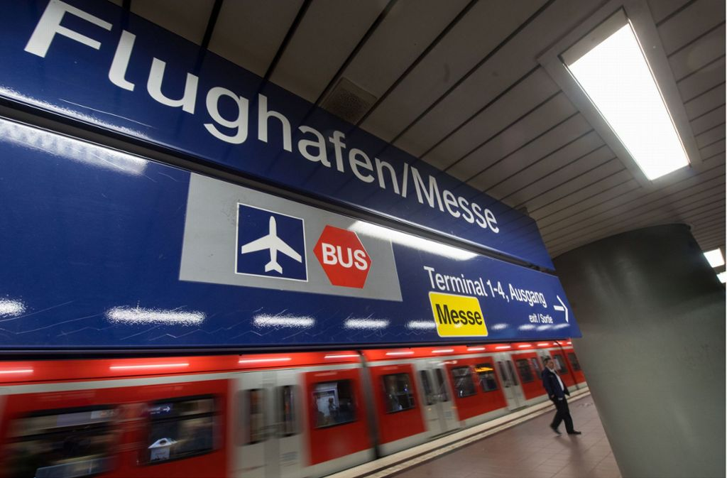 Flughafen Stuttgart Fruhe Fluge Kunftig Mit Der S Bahn Erreichbar