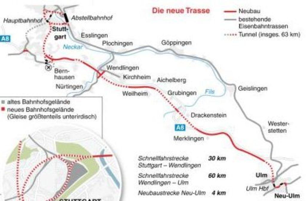 Baustellen A8 Ulm Stuttgart