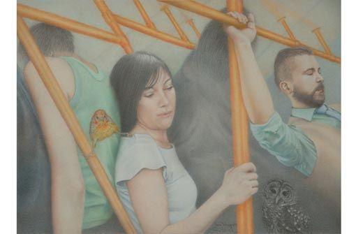 Ines Scheppach: In der Realität das Phantastische finden in der Galerie Interart