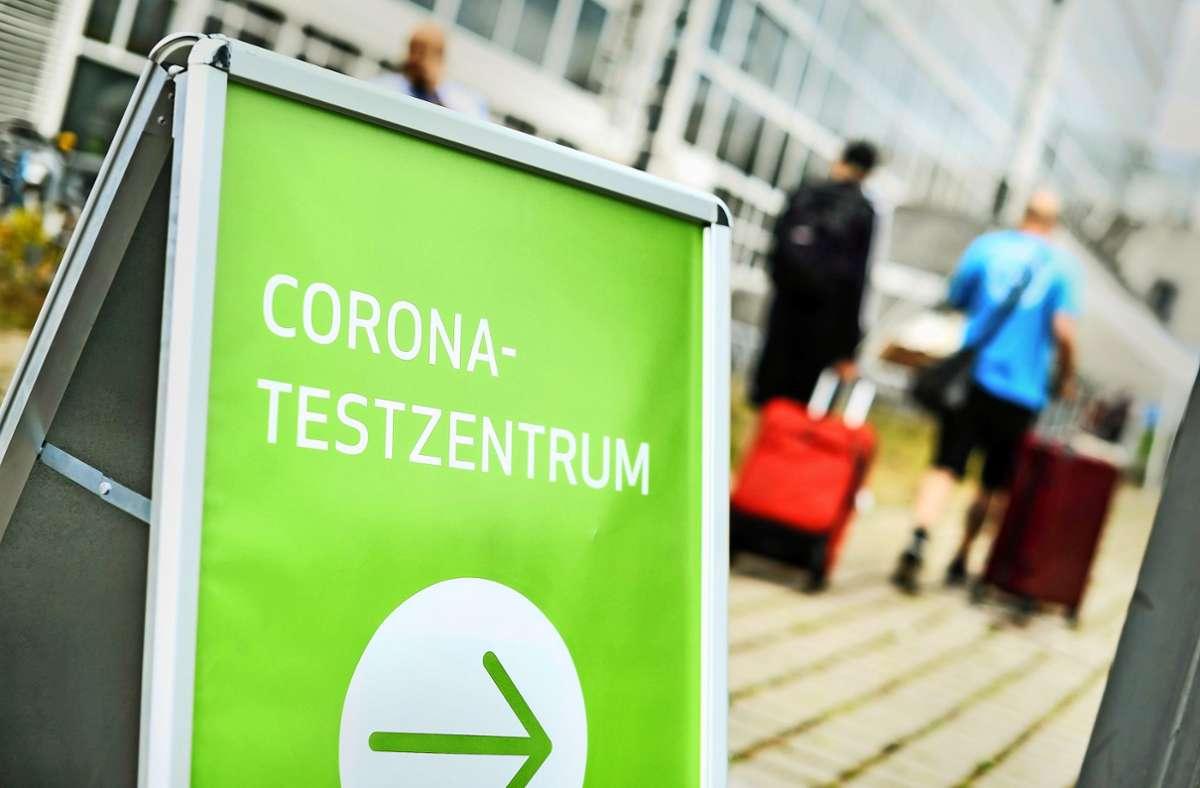 Testzentrum Corona Stuttgart