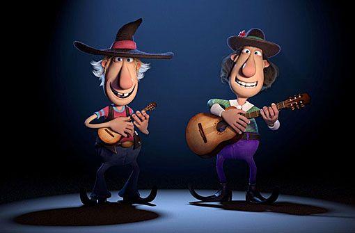 Animation: Zwei Freunde und ihr Dachs