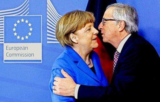 Merkel  verkauft Eskimos  Kühlschränke