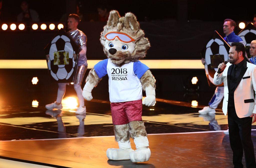 Fussball Wm 2018 In Russland Alle Maskottchen Der Wm
