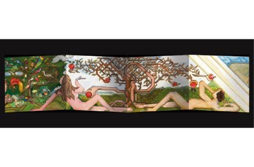 Die längste Künstlerbibel der Welt von Willy Wiedmann bis 25. Januar in Rathausgalerie und Stadtkirche von Balingen