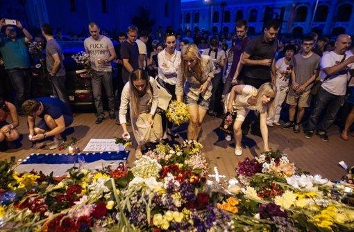 Niederlande unter Schock: 154 Landsleute getötet