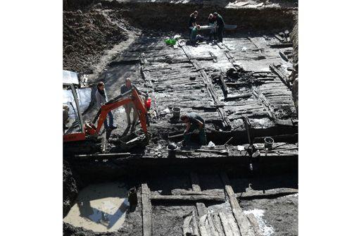Auf Holz gebaut: Neues aus dem Römischen Cannstatt im Bürgerhaus Neugereut