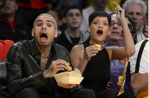 Chris Brown und Rihanna haben sich nach der Prügel-Attacke vor Jahren wieder versöhnt. Foto: EPA