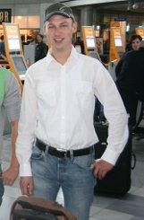 bJochen Buhrmester/b (30) fliegt für  eine Exkursion nach bMoskau/b. Dort will er sich ... Foto: Simoneit