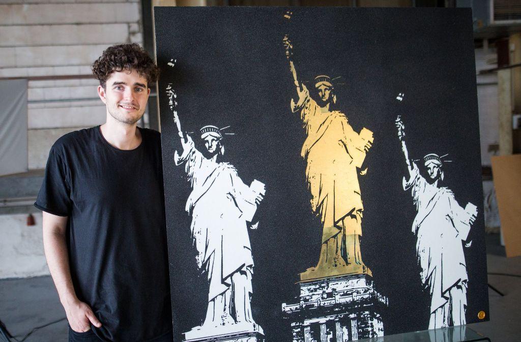 Künstler Stuttgart kunscht junge stuttgarter künstler stellen aus große träume