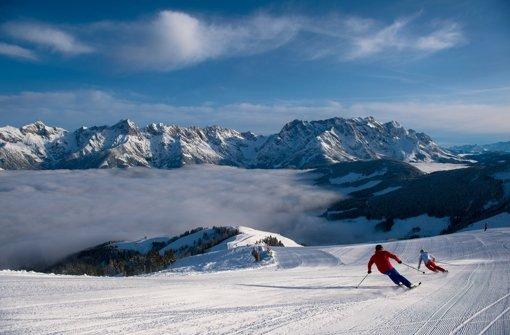 Skihänge könnten künftig schleimig und grün sein