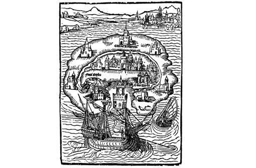 Book art for Thomas More's 'Utopia'