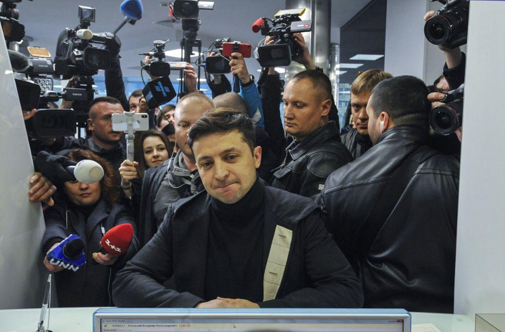 Präsidentenwahl in der Ukraine: Clown, Marionette oder keins von beidem?