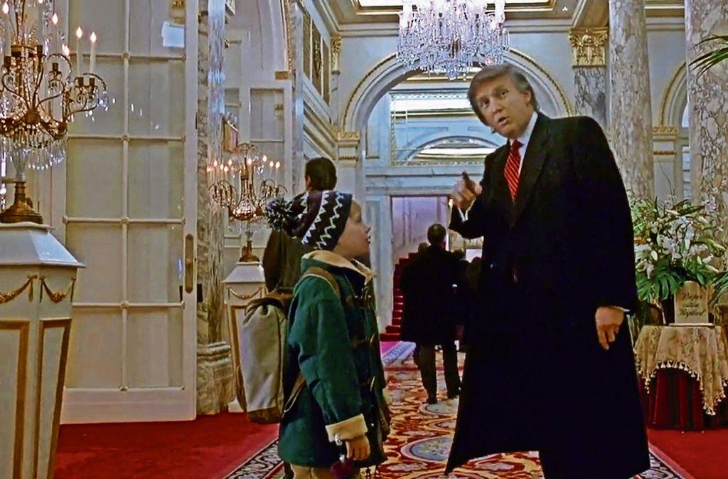 Donald Trump Kevin Allein Zu Haus