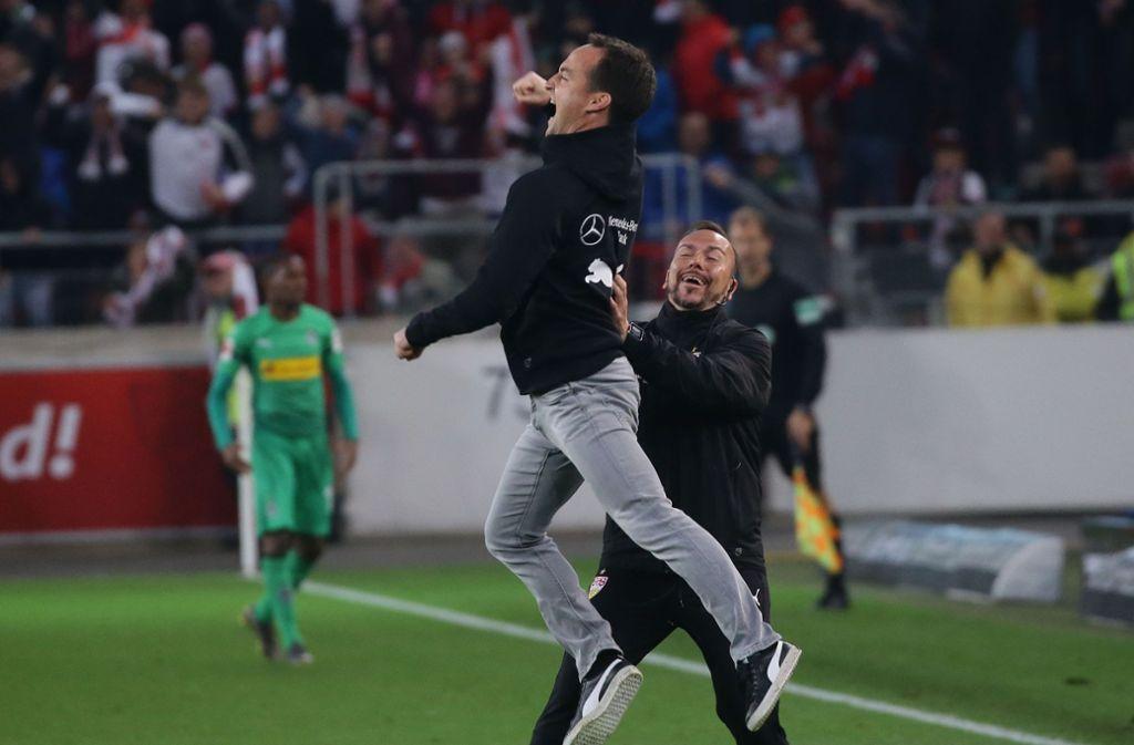 Vfb Stuttgart Gegen Borussia Monchengladbach Wie Nico Willig Seine Premiere Erlebt Hat Vfb Stuttgart Stuttgarter Zeitung