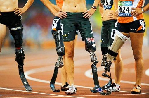Die meisten Kriegsveteranen gehen  in den Leichtathletik-Wettbewerben an den Start. Foto: AFP