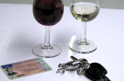 Mit 1,9 Promille, aber ohne Führerschein
