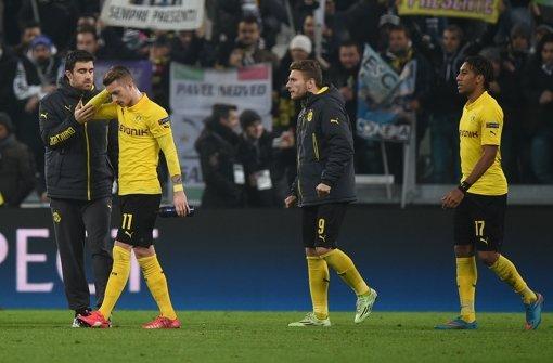 BVB verliert 1:2 bei Juve und darf hoffen