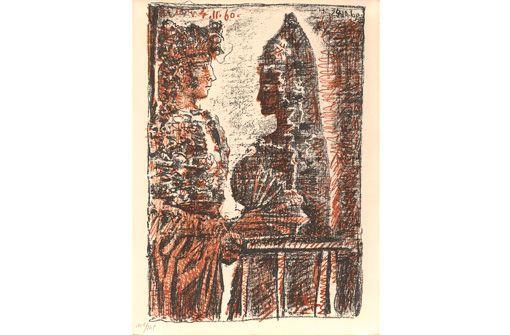 Verlängert bis 4.3.: Pablo Picasso und die Literatur in der Kunsthalle Göppingen