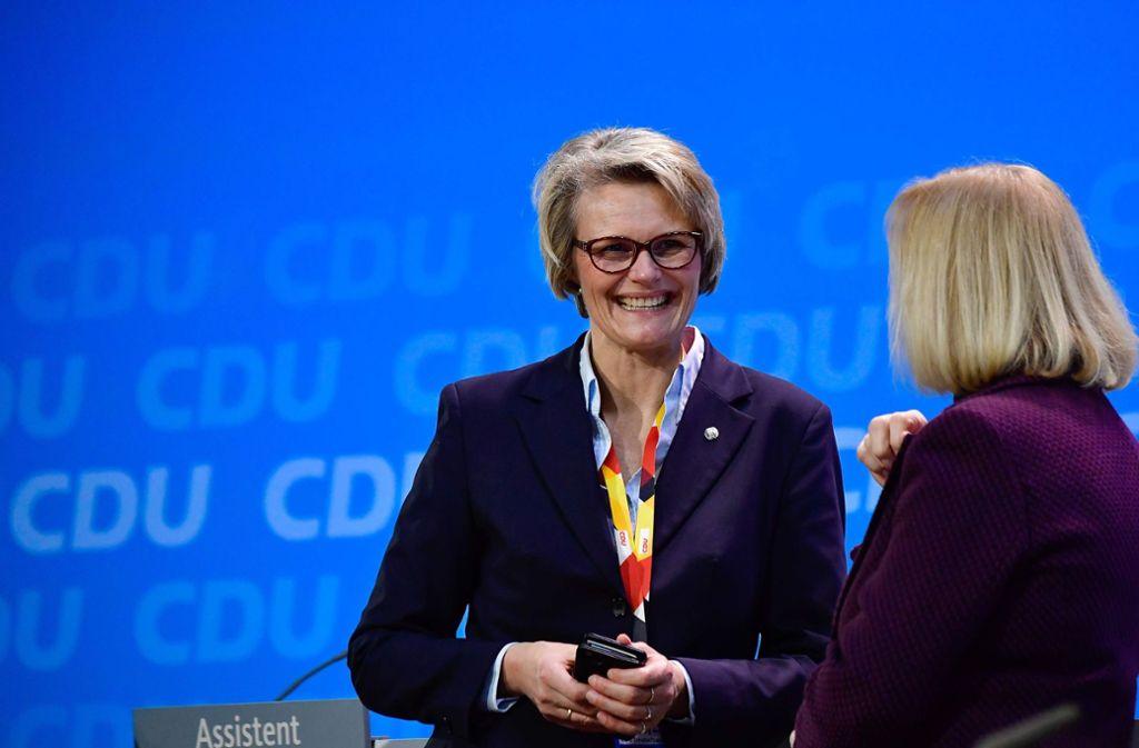 Künftige Bildungsministerin Anja Karliczek Die Unbekannte