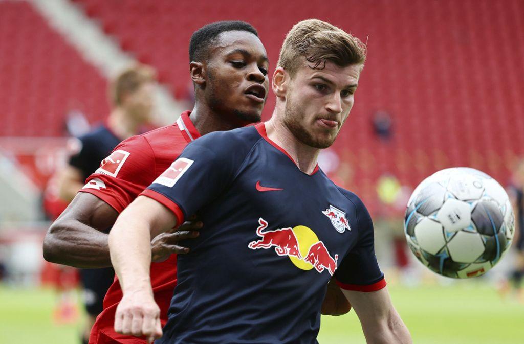 Bundesliga am Sonntag: RB Leipzig fertig Mainz auswärts ab