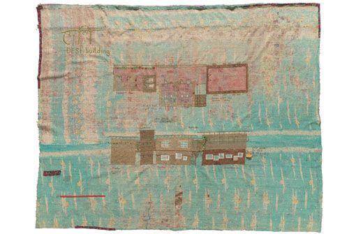 Kleider machen Orte. Dipdii Textiles, Bangladesch in der ifa-Galerie