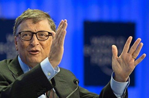 Bill Gates führt Liste weiter an