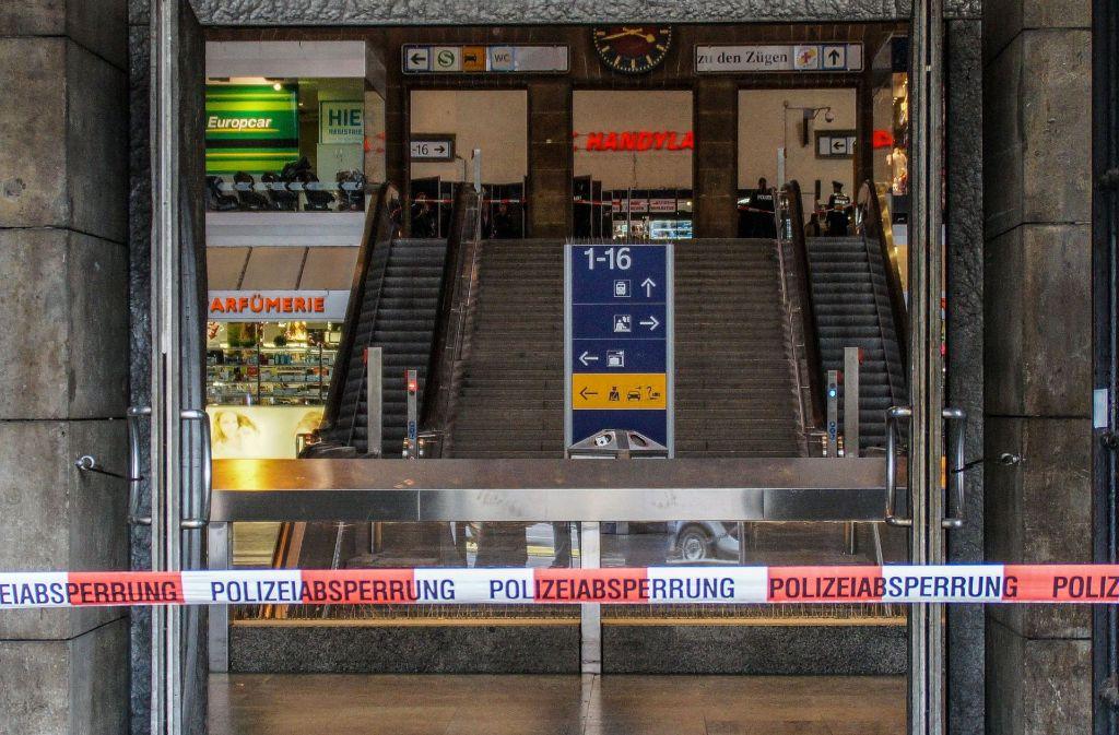 Hauptbahnhof In Stuttgart Die Gewaltdelikte Haufen Sich Stuttgart