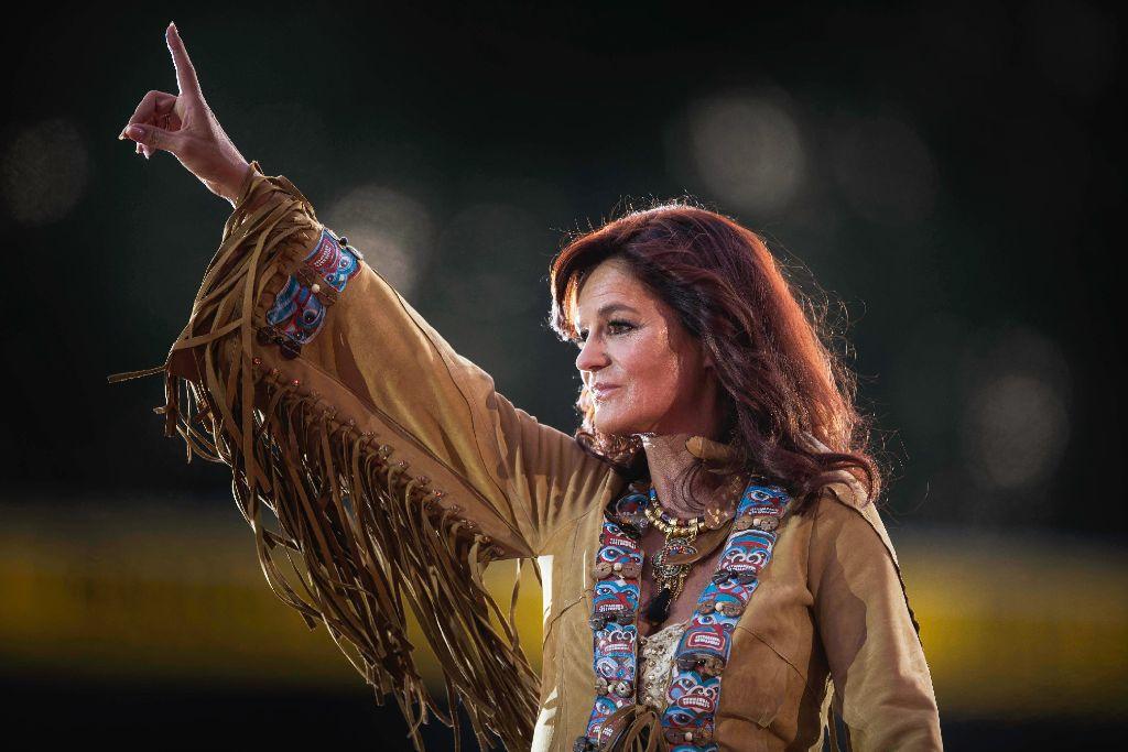 Andrea Berg Konzert In Aspach Ein Feuerwerk Im Sommerhimmel