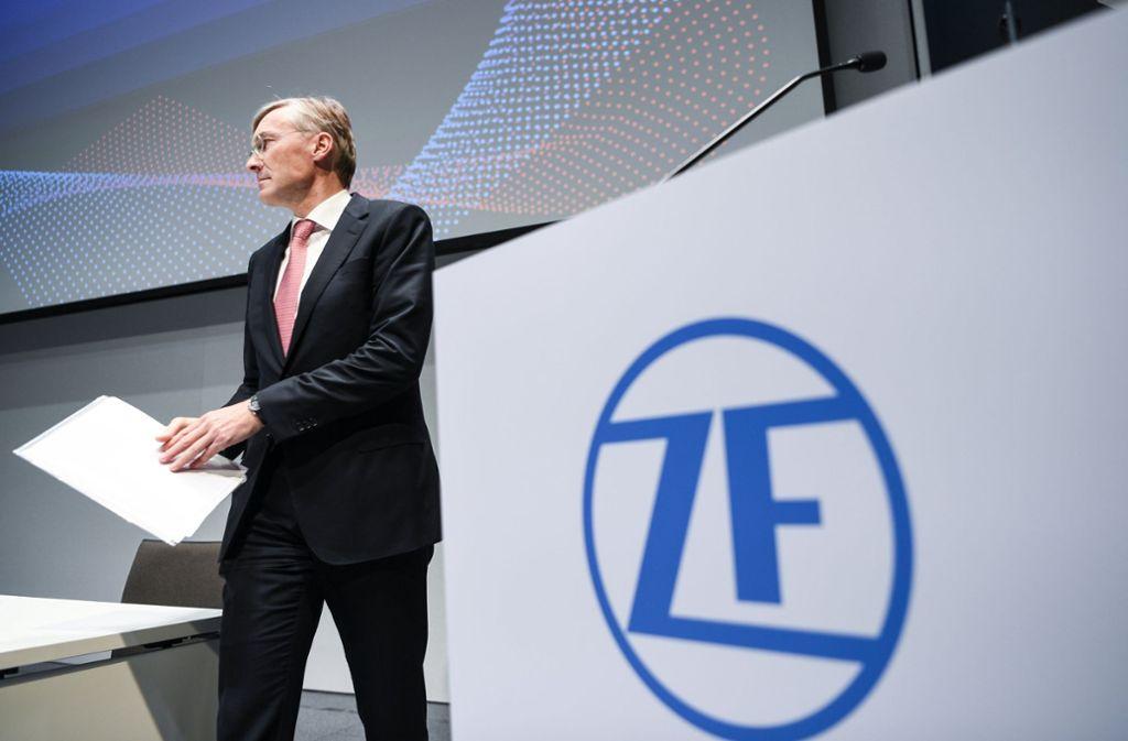 Zf Friedrichshafen Karriere >> ZF Friedrichshafen: Wolf-Henning Scheider fördert Start-up-Kultur - Wirtschaft - Stuttgarter Zeitung