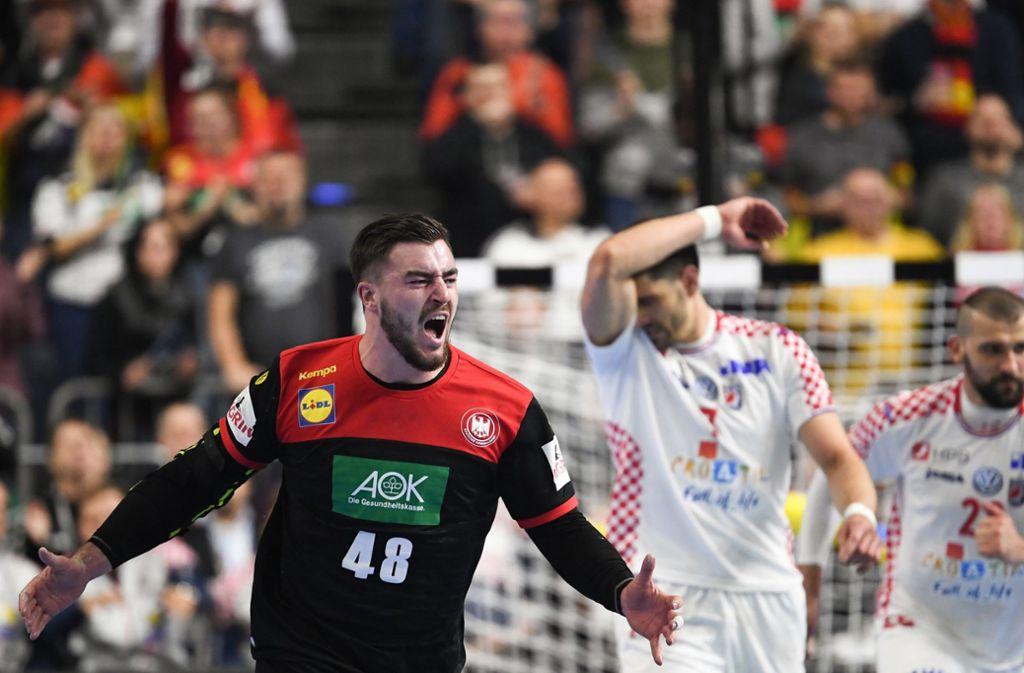Handball Wm Kroatien Deutschland Kroatien 2020 01 08